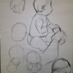 Various baby poses
