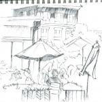 Union Square Sketch 03