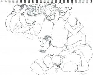 Union Square Sketch 04
