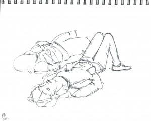 Union Square Sketch 05