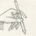 Hand with Wacom Pen