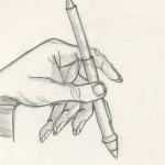 Hand with Wacom Pen