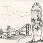 The Rocketship by the Ferry Building