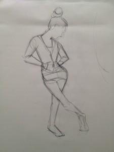 Ten minute drawing