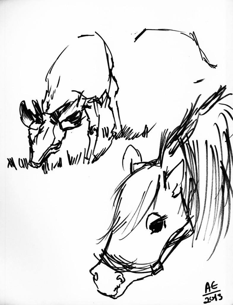 Goat and Pony