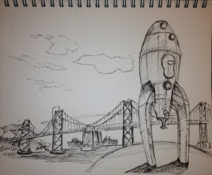 The Rocket near the Ferry Building