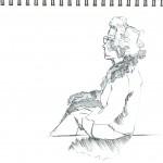 Union Square Sketch 06