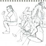 Union Square Sketch 07