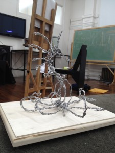 Octo-Dragon Wire Frame 02