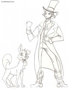 Version 02: Sidekick Dog and Evil Carnival Owner
