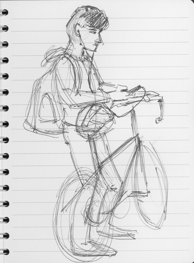 Guy with bike 2
